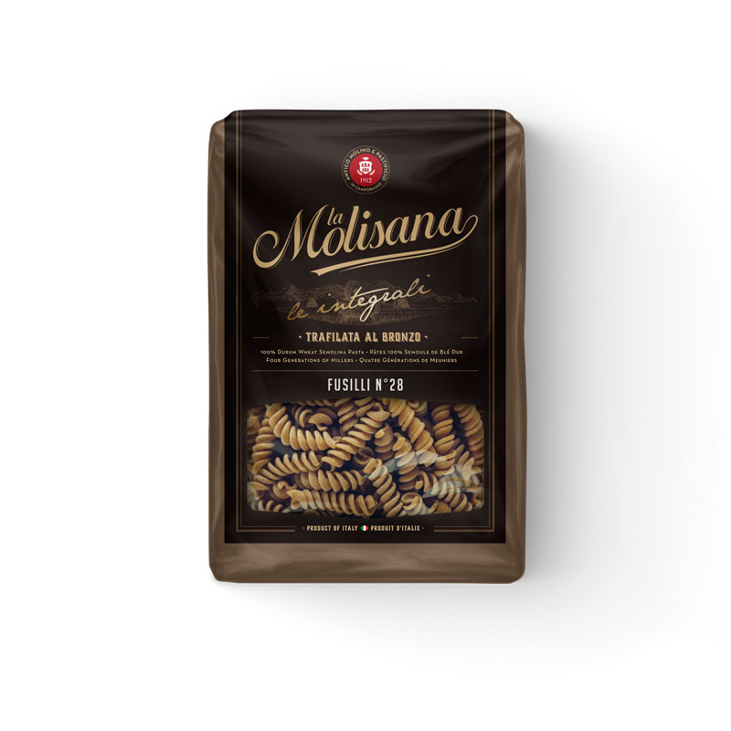 LA MOLISANA WHOLE WHEAT FUSILLI PASTA