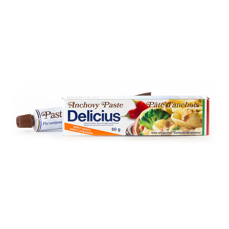 DELICIUS ANCHOVY PASTE SPICY SAUCE - TUBE